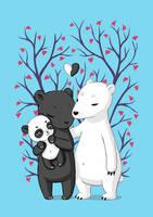 Bear Family by freeminds