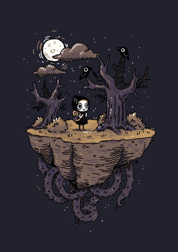Dark Wood by freeminds