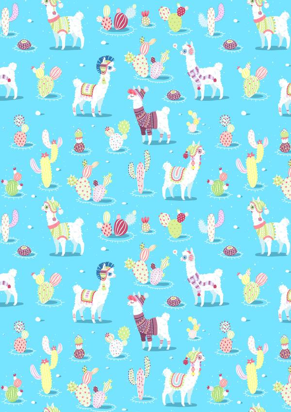 Alpaca Pattern by freeminds