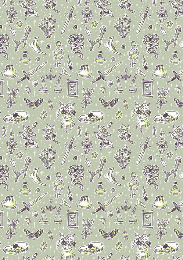 Witchcraft Pattern by freeminds