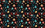 Strange Birds Pattern