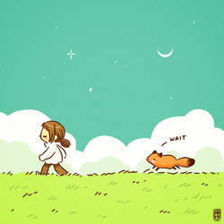 Walking a fox by freeminds