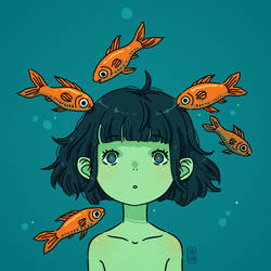 Sea Child by freeminds