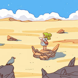 Desert by freeminds