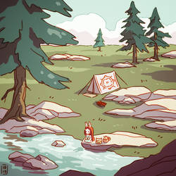 Camping by freeminds