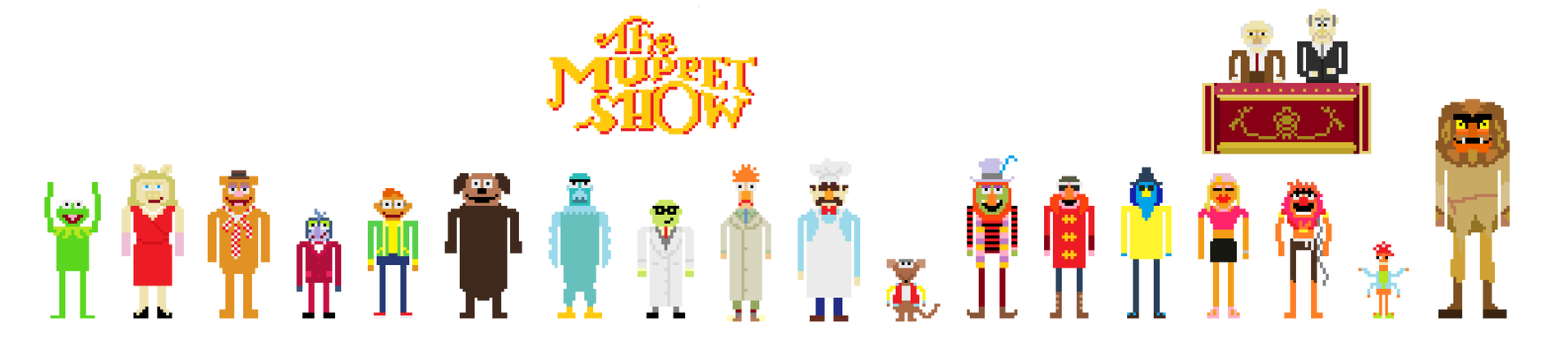 The Muppet Show! by TheRedNightDog