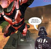 Darth Halo by Sliphyan