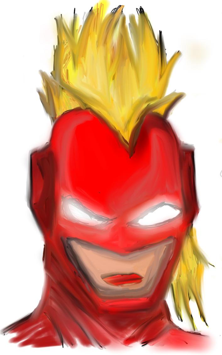 Captain Marvel by butrball20