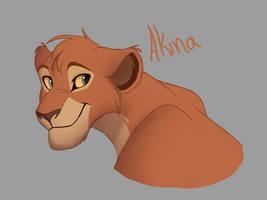 Akina redraw by K-reator