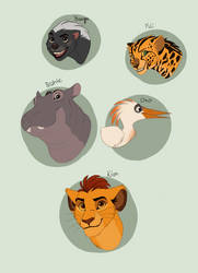Lion Guard Redrawn