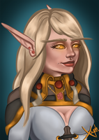 Cal'estel Rosestrider - Commission by Xaaph