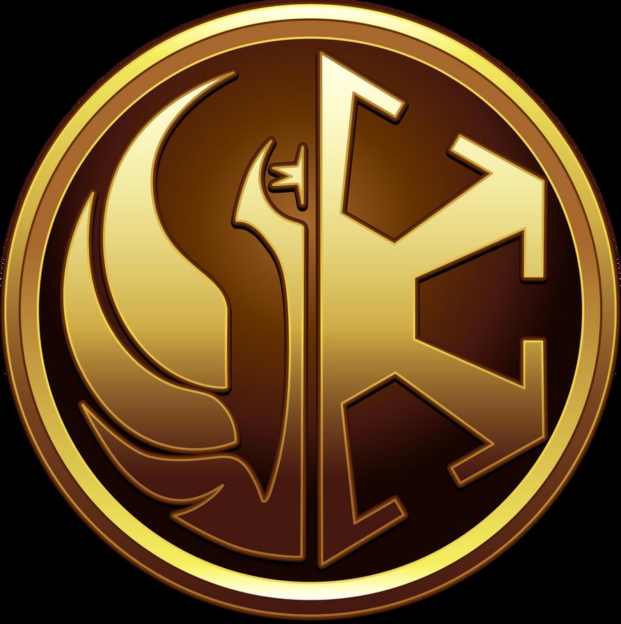 Republic vs empire by eiluvision on deviantart - Republic star wars logo ...