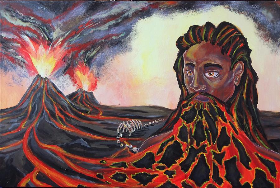 Magmabeard by Shmelanna