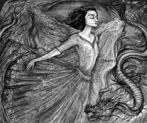 Dance with fire by YanaYagori