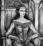 Queen's sorrow by YanaYagori