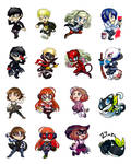 Persona 5 Chibis!