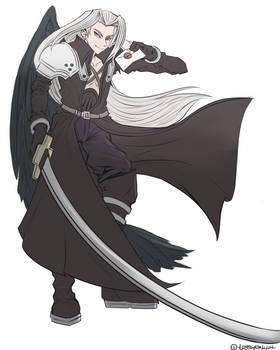 Sephiroth in Smash