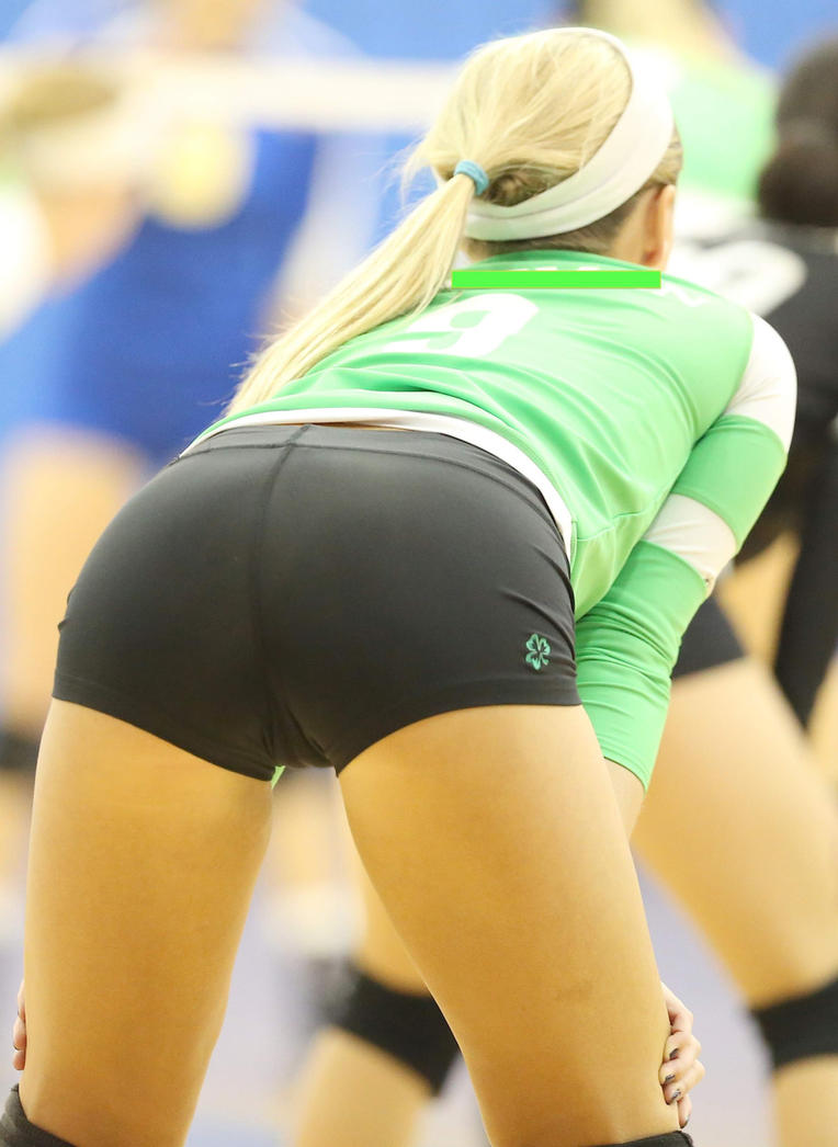 Opinion you Girl gets fucked in volleyball spandex are