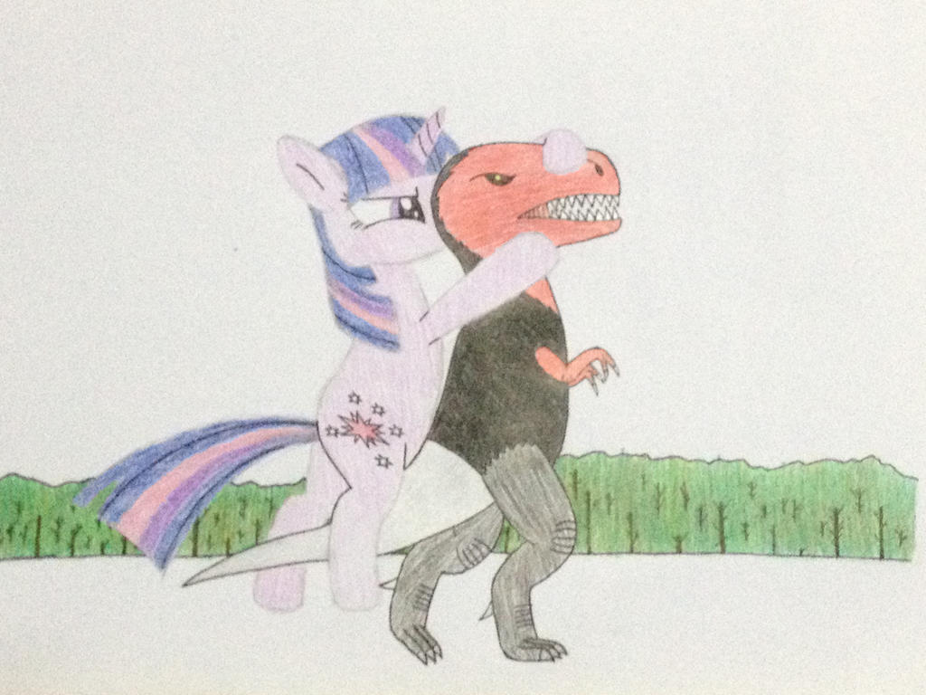 Twilight vs Ti-Rex by DON2602