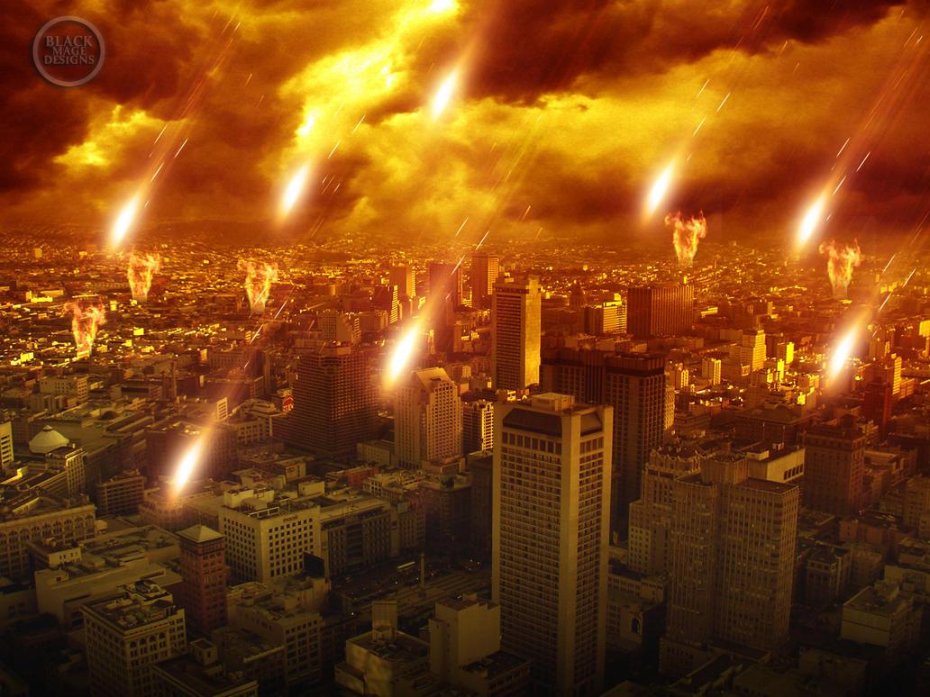 Apocalypse City Fire Apocalypse by BlackMag...