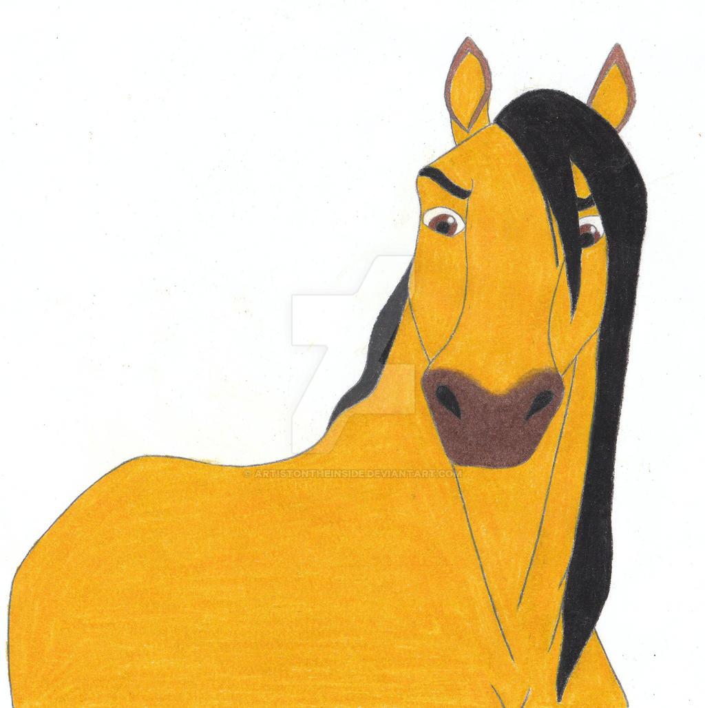 spirit stallion of the cimarron by artistontheinside on deviantart
