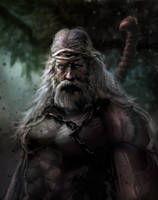 Old Barbarian by mattforsyth