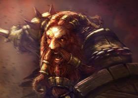 Dwarf Berserker by mattforsyth