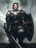 Hadrain The Knight by mattforsyth