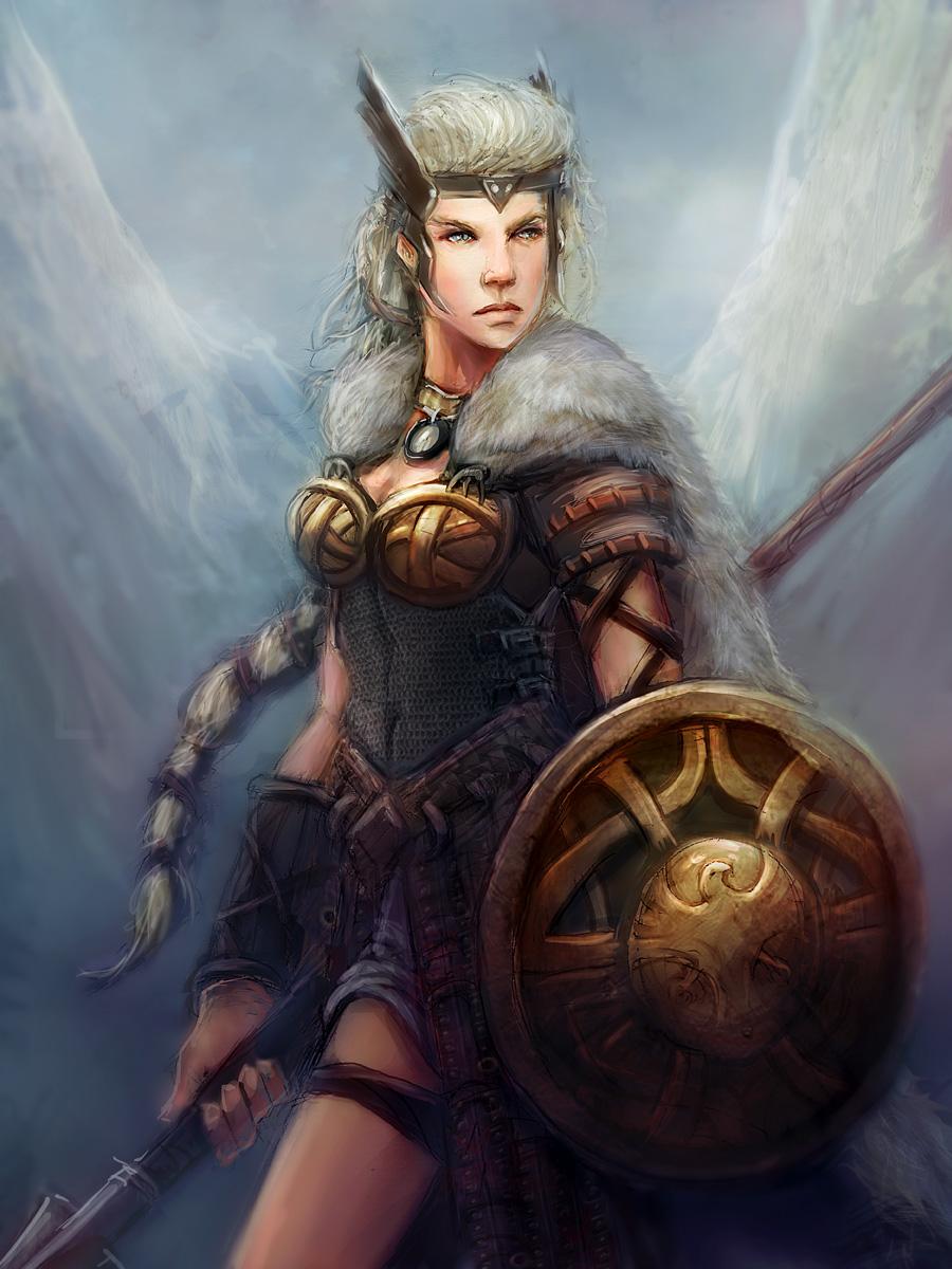 Freya the Valkyrie by mattforsyth on DeviantArt