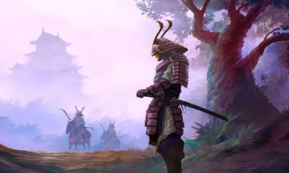 Samurai by mattforsyth