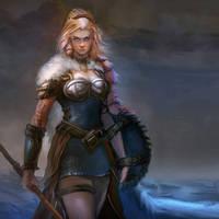 Shieldmaiden by mattforsyth