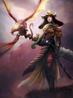 Dragon Knight by mattforsyth