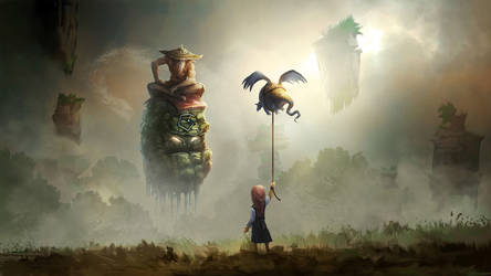 The Dragon Girl by mattforsyth