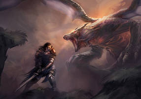 dragonEncounter by mattforsyth