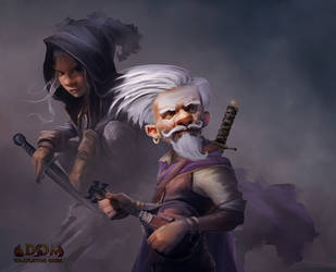Gnomes for the ADOM Roleplaying game by mattforsyth