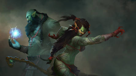Orcs for Adom Roleplaying game by mattforsyth