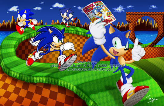 SONIC and HOBBY CONSOLAS