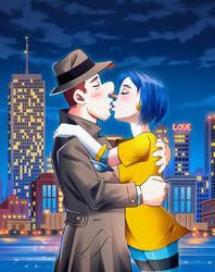 New York  City Nights by ayamepso