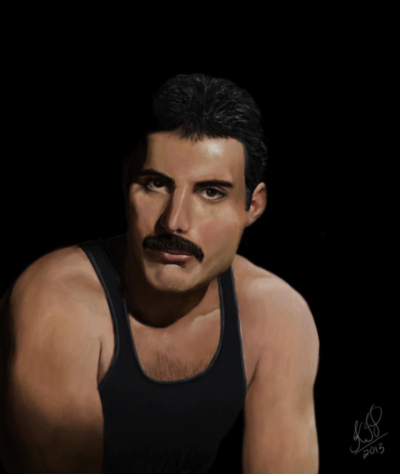 Freddie Mercury alive ! by kip13