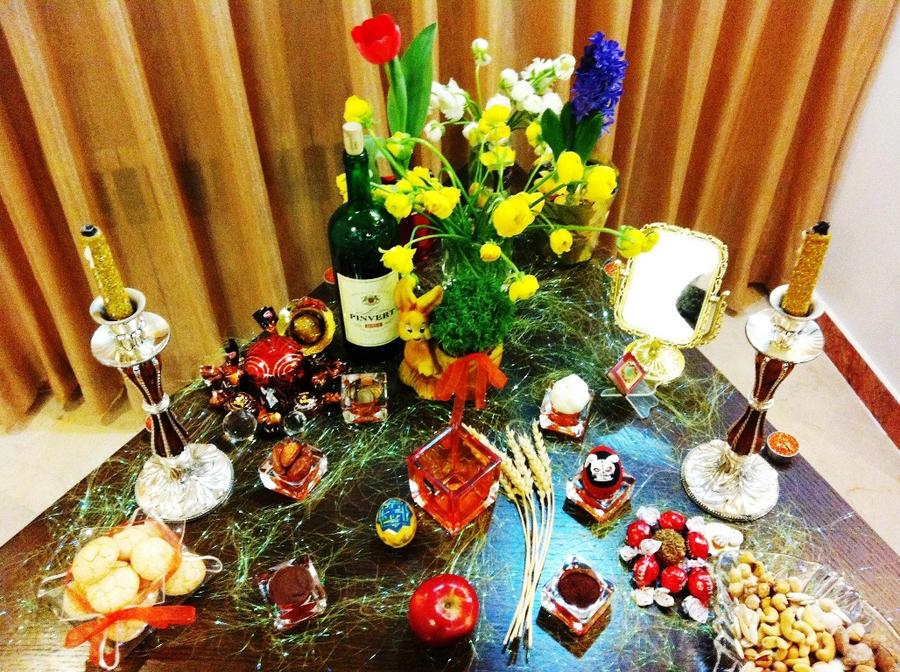 7 Seen For Nowruz II by BloodyFuneral