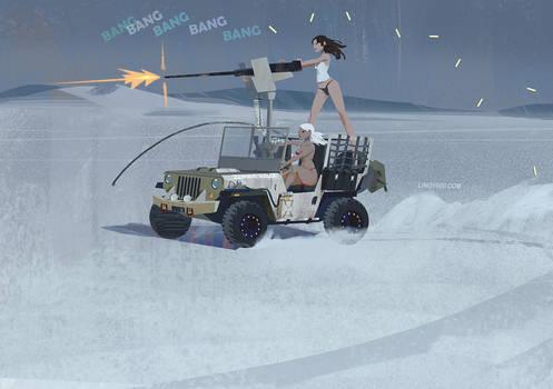 zombie killer jeep