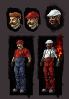 Mario redesign by Konnee