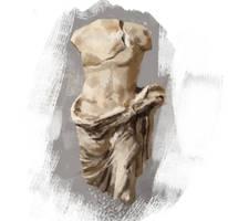 Day2 3 Roman Bust by Konnee
