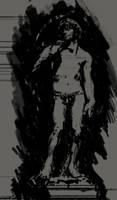 Day2 Shapestudy Michelangelos David by Konnee