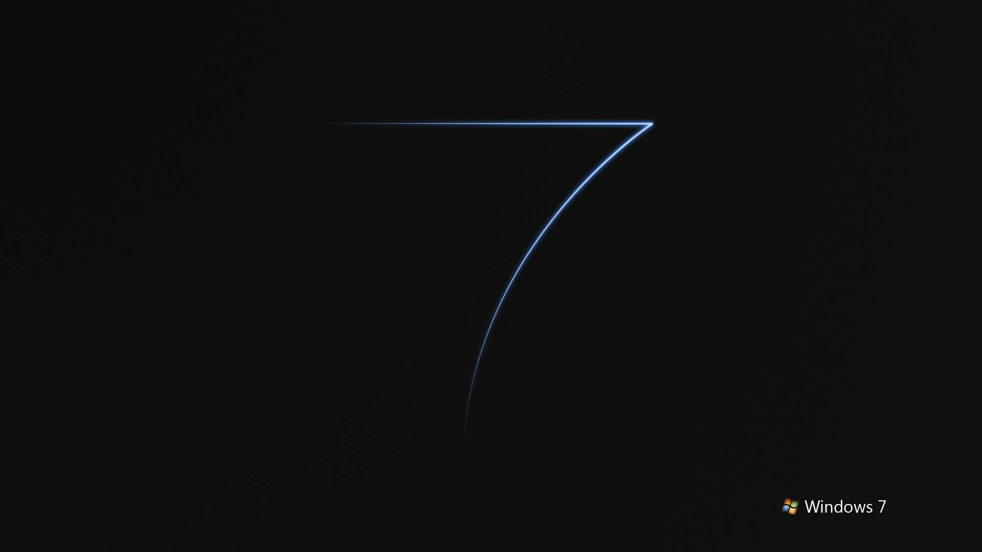 Black Windows 7
