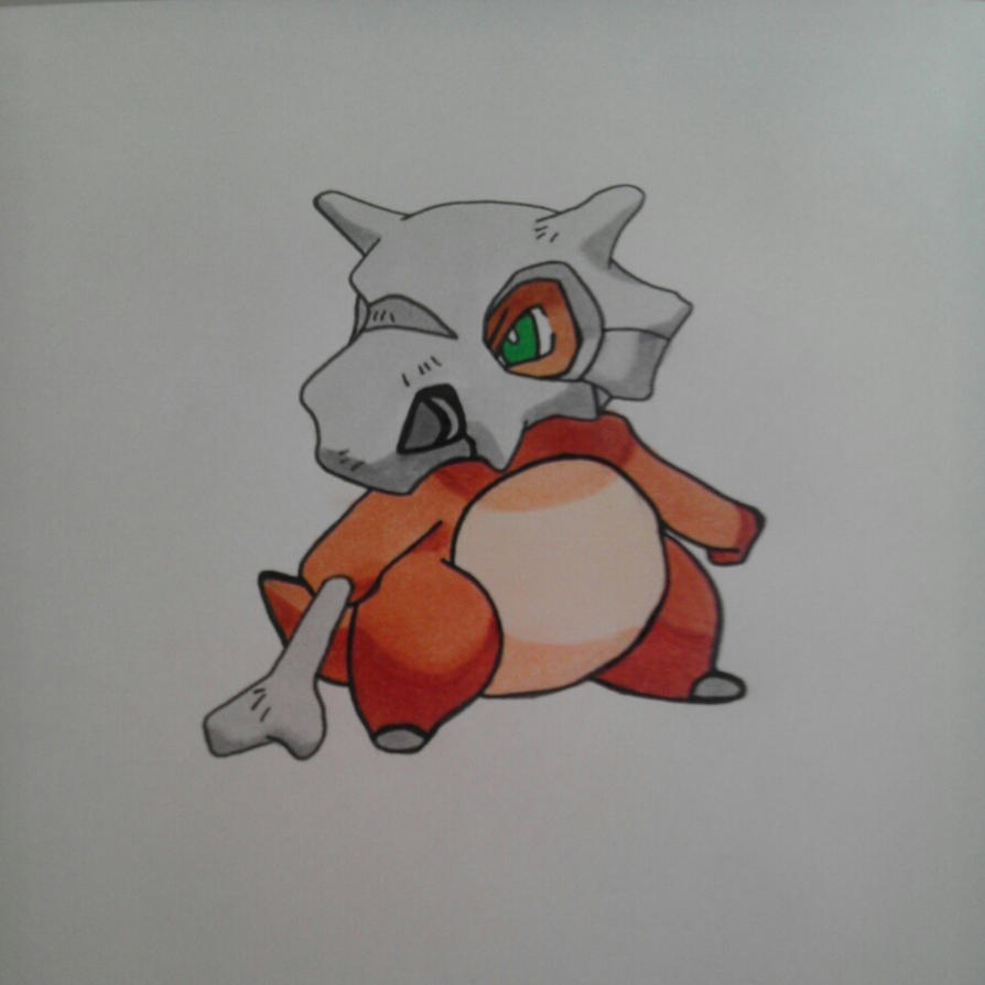 Cubone by DeafDachshunds