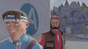 TWDG / Tf2 Crossover : Ben and Kenny