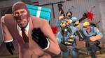 Spy Vs. Blu by Hellhounds04