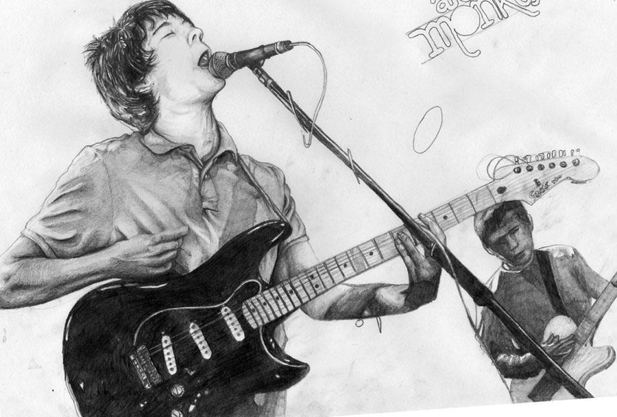 Arctic Monkey - Alex Turner by Colej-uk