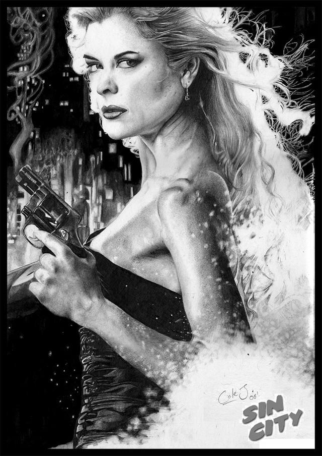 Sin City- 'Goldie' -Jaime King by Colej-uk